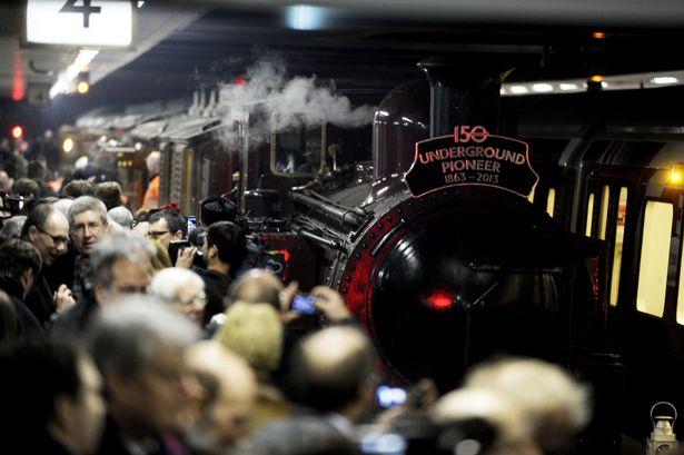 London Underground Steam Train
