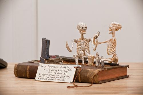 Skeleton Paper Model