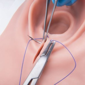 p95 episiotomy and suturing simulator
