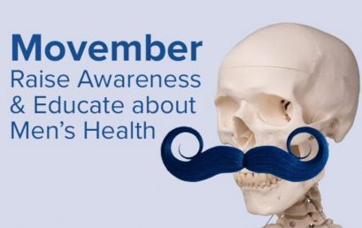 Which Men's Health Topics Will You Discuss During Movember?